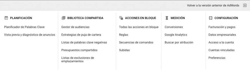 ¿Dónde encontrar las facturas de Google Adwords?